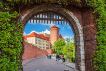 Beautiful Wawel Castle In Krak...