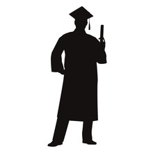 Graduate Silhouette