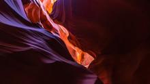 Glowing And Colorful Antelope Canyon, Arizona Near Page