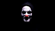 Maniac With Spooky Clown Face ...