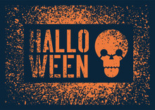 Halloween Party Typographical ...