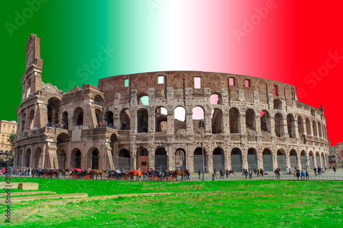 Colosseum building in Rome city Wallpaper Mural