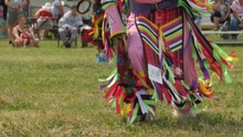Native American Men Dance At A...