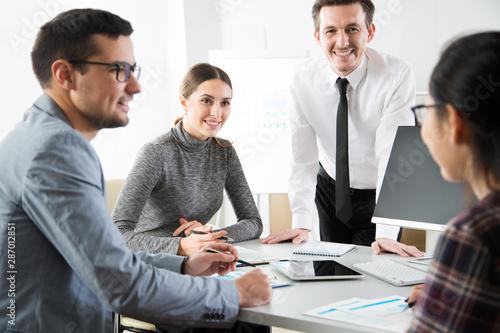 Fototapeta Business people obraz na płótnie