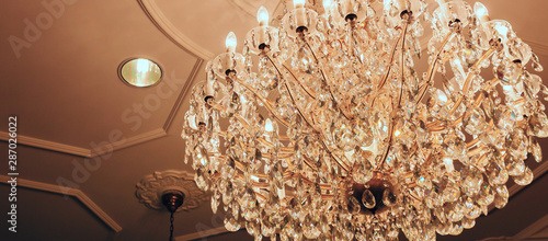 Foto Classic crystal chandelier