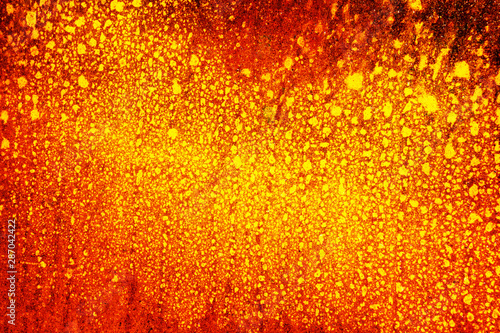 Obraz Heat abstract background from rusty metal - fototapety do salonu