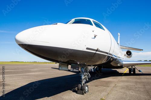 Fotografie, Obraz  Jet privé au sol