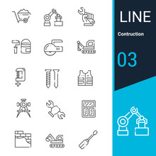 Line Editable Stroke - Construction And Vector Icons