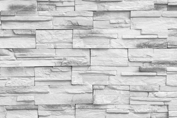 Gray brick wall or rear wall for interior or exterior to your design.