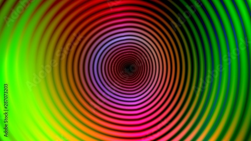 Poster Psychedelic Colorful abstract art background