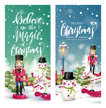 Christmas Headers Or Banners
