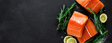 Salmon. Fresh Raw Salmon Fish ...