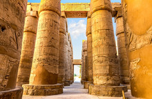 Central Colonnade Of Karnak