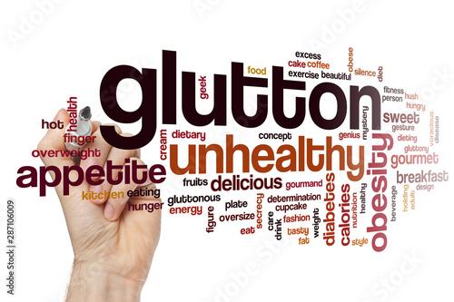 Photo Glutton word cloud