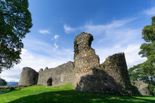 The Old Inverlochy Castle, Fort William In The Highlands Of Scotland
