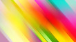 canvas print picture - rainbow stripes diagonal Light Multicolor, Rainbow background with straight lines