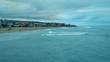 Cloudy, Autumn feeling day at a beach in Imperial Beach, California.