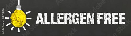 Allergen free Canvas Print