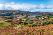 Dervaig On The Isle Of Mull In...
