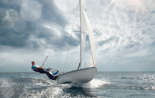 Sailing Yacht Race. Yachting. ...