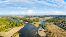 Le Bec D'Allier, La Loire Et L'Allier Se Rejoignent à Nevers