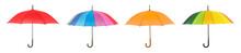 Stylish Umbrella On White Back...