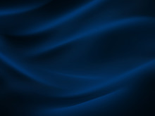 Sea Wave Abstract Navy Blue Bl...