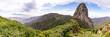 canvas print picture - Roque de Agando auf La Gomera