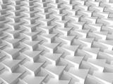 Fototapeta Przestrzenne - Abstract geometric background pattern, 3d