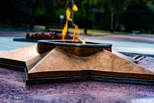 Monument Of World War II. Eternal Flame