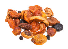 Pile Of Various Dried Fruits F...