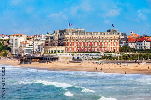 Fotografia Hotel du Palais building in Biarritz