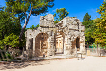 Diana Roman Temple In Nimes