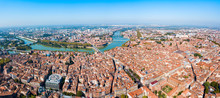 Toulouse Aerial Panoramic View...