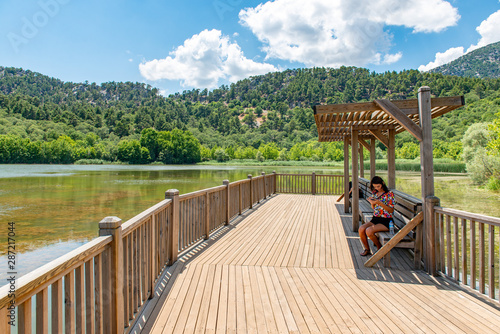Photo Kovada Lake National Park, Egirdir, Isparta - Turkey.