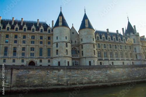Castle Conciergerie and bridge