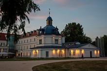 Blue Spa Building In Turciansk...