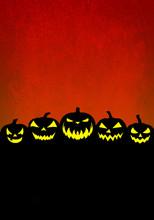 Red Halloween Background