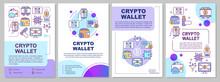 Crypto Wallet Brochure Templat...