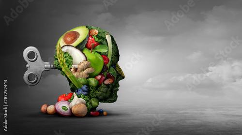 Fotografie, Obraz  Vegan Diet And Mental Function