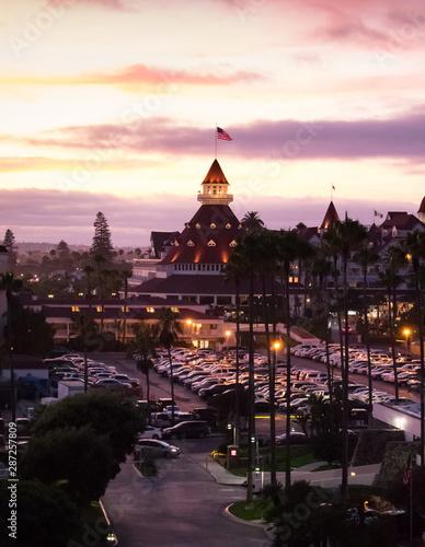 Coronado Sunset San Diego, California Canvas Print