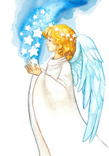 Beautiful Blessing Blond Angel