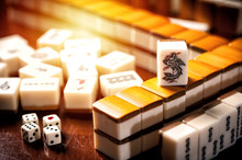 Old Mahjong Tiles