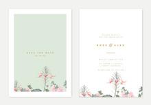 Minimalist Botanical Wedding I...