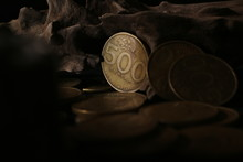 500 Indonesian Rupiah Coin, A ...
