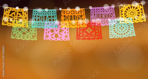 Dia De Los Muertos Mexican Day Of The Dead Holiday Web