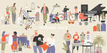 Vector Illustration Of A Large...