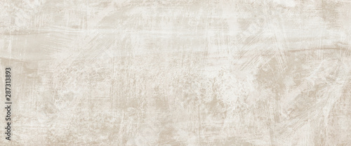 Tuinposter Retro Beige cement backround. Wall texture