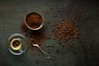 Leinwanddruck Bild Coffee