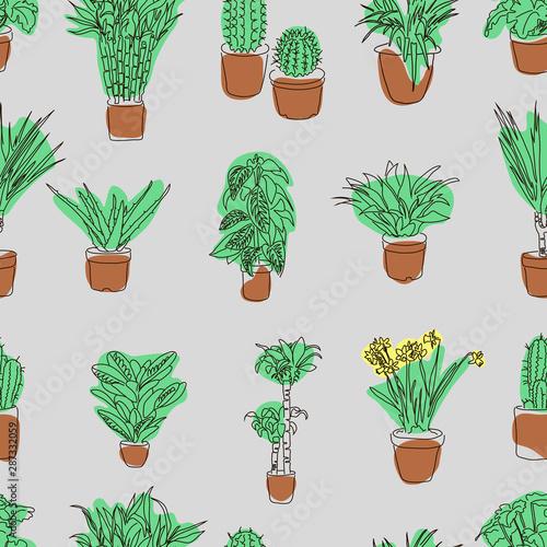 ozdobny-wzor-z-kwiatami-doniczkowymi-w-ksztalcie-linii-niekonczace-sie-tlo-z-roslinami-i-kwiatami-w-doniczkach-kryte-kwiaty